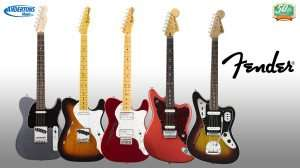 Up to 50% off Fender and Squier guitars @ Andertons
