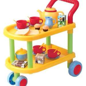 B&M toy tea trolley was £12.99 now £2.99