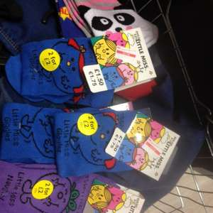 Little miss socks scanning 0.04p at Tesco in store (Ilkeston)