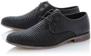 Woven Leather Gibson Shoe £26 + £3.50 P&P @ Dune london