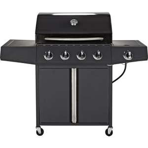Montana 4 Burner Gas BBQ - £88.94 Delivered @ Homebase