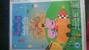 peppa pig dvds circus, potato city, the Queen and lots more @ HMV