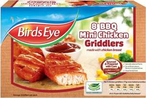 Birds Eye BBQ Mini Chicken Griddlers (8 per pack - 204g) ONLY £1.00 @ Asda