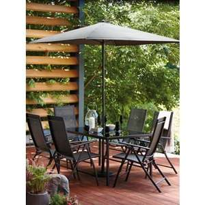 Homebase, Andorra 6 seater patio set - £127.48