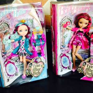 Ever after high dolls £5 in stores @asda