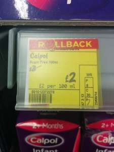 Calpol Infant £2 at ASDA