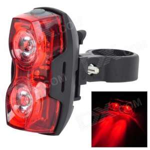 Super Bright Rear Bike Light £3.68 @ DX.com