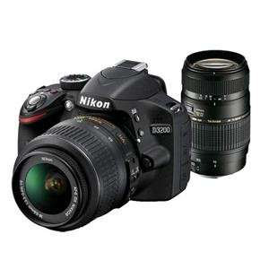 Nikon D3200 DSLR with 18-55mm VR Lens and Tamron 70-300mm Lens with free £69 accessory Kit  £379 at Jessops