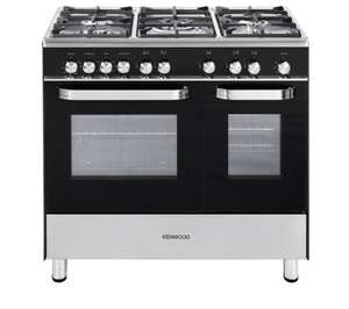 KENWOOD CK405G Gas Range Cooker - Black - £579 @ Currys
