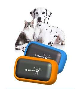 G-PAWS GPS Pet Data Recorder Tracker For Cats & Dogs £19.95 @ Ebay Velocity Outlet