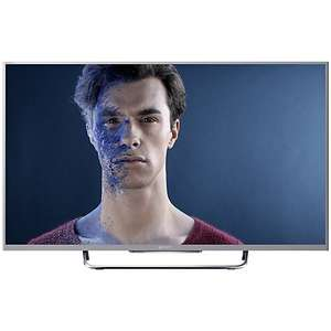 "Sony Bravia KDL50W8 LED HD 1080p 3D Smart TV, 50"" with Freeview/Freesat HD & 2x 3D Glasses, Black, £754.99@ jccampbellelectrics but price matched at John Lewis"
