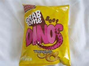 Golden Wonder Beef Dinos 50g Bag 19p each @ Home Bargains