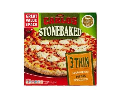 Carlos Stonebaked Pizza 89p @ Aldi