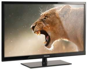 New 32 Inch Hisense LHD32E130TUK (Freeview HD, 720P HD, LED TV) £169.98 with pricematch (£119.98 after £50 cashback at AO.com)