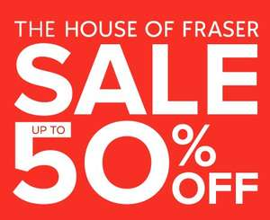 HOUSE OF FRASER - Upto 50% off MENS, WOMENS, KIDS, HOME, etc..