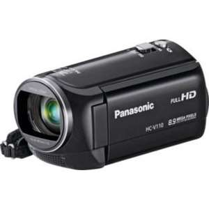 Panasonic HC V110 Full HD Camcorder - Black £89.99 @ Argos