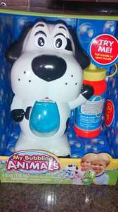 Animal Bubble Machine was £7 now £3.50 @ Asda in store