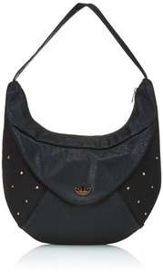 Adidas Women's Grunge Hobo Bag - Black @ Amazon 62% off ,now £15+free p&p