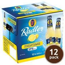 12x 330ml Refreshing Fosters Radler 12X300ml £5 @ tesco.com