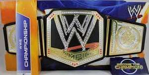 WWE Belts Assortment Only £7.49 @ Asda