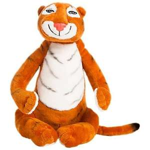 The tiger that came for tea soft toy Was £14.99 Now  £6.99  (Free delivery £10 spend / Prime) @ Amazon