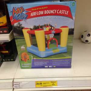 Airflow Bouncy Castle £32.50 @ Tesco instore