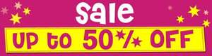 100s of products up to Half Price in the Sale - Potential 2% Quidco -  Free Delivery on £50 spend @ Yellow Moon