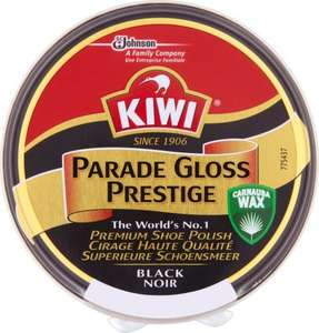 Kiwi Parade Gloss Prestige Black Noir Shoe Polish (50ml) ONLY £1.00 @ Asda