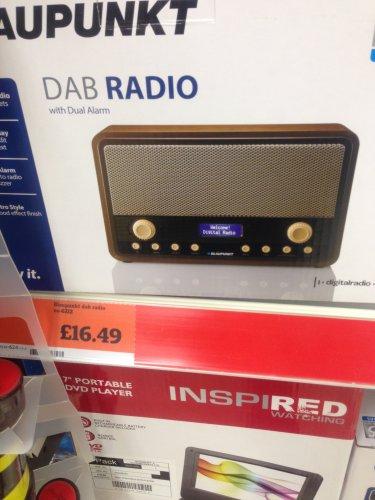 Blaupunkt Retro DAB Radio (was £54.99) £16.49 instore @ Sainsbury