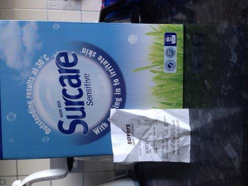 Surcare washing powder (30 washes) £3.99 @ Savers