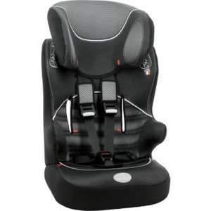 BabyStart Racer Group 1-2-3 Car Seat - Black and Grey was £59.99 Now £29.99 at Argos