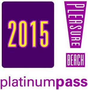 2015 Platinum Pass @ Blackpool Pleasure Beach - £99