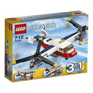 LEGO Creator 31020: Twinblade Adventures at Amazon (£10 Spend for free postage)