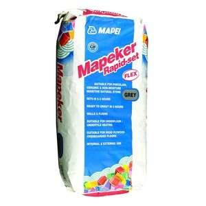 Mapei Grey Tile Adhesive 3 for £40, 20kg bags @ Wickes