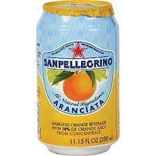 San Pellegrino - 24 cans of orange for £10.00 @ Asda