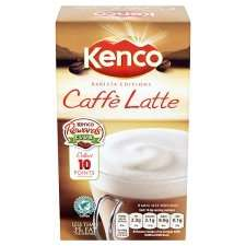 Kenco Caffe Latte Sachets 8 Pack (158g) £1.24 at Morrisons