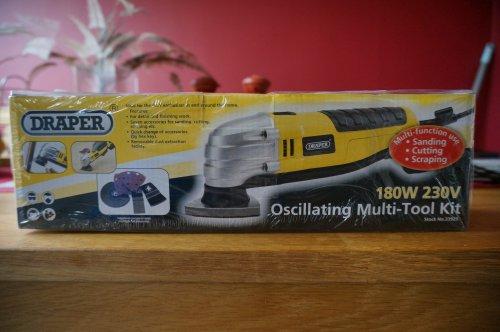 Draper 180w multitool £17.00 @ Asda Instore