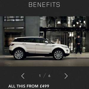 5 years servicing on a range rover evoque for £499 from Landrover.