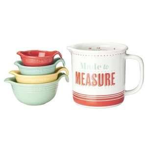 Jamie Oliver Measuring Stack,  was £17.49, now £5 at Dunelm Mill