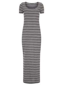 Tall ink stripe tshirt maxi dress Was £7.20 Now £6.12 delivered (with code and current free delivery) + potential 4% Quidco cashback (+ extra 5% if you pay via Paypal) @ Dorothy Perkins