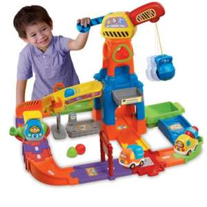 Vtech toot toot drivers construction site £21.19 with free delivery @ Amazon