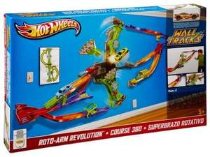Hot Wheels Wall Tracks Roto-Arm Revolution Set £12 @ Tesco instore