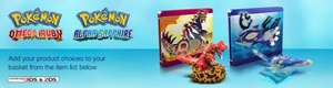 Pokemon Omega Ruby & Alpha Sapphire Limited Steelbook Edition with figurine £40 @ Nintendo Shop