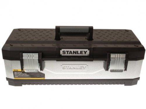 Stanley 26-inch Galvanised Metal Toolbox £19.99 @ Amazon