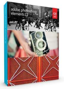 Photoshop Elements 12 £29.95 at Amazon