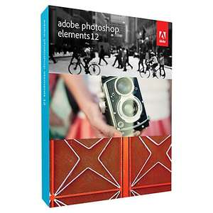 Adobe Photoshop Elements 12 - £29.95 (Free Collection or £3.00 Delivered) @ John Lewis