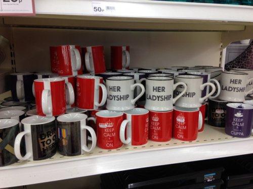 Wilko have mugs 50p variety