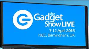 Gadget Show Birmingham 20% ticket discount 8 -12th April 2015