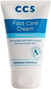 CCS Swedish Foot Care Cream 175ml tube £3.95 @Amazon. £10 spend required (Add on item)