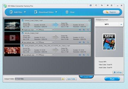Free WonderFox HD Video Converter Factory PRO